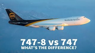 747-8 vs 747-400   WHAT'S THE DIFFERENCE?
