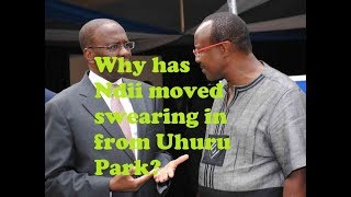 Why Has Ndii Changed The Swearing In Venue?