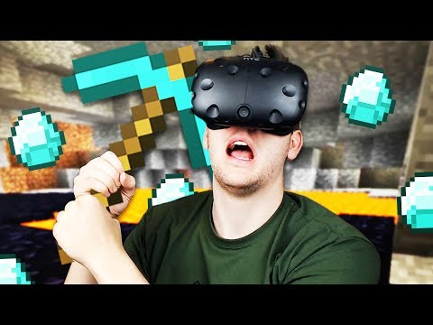 VR Minecraft Exploring! - Vivecraft Gameplay - Vivecraft VR HTC Vive