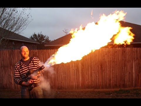 DIY Flame Thrower For Under $50