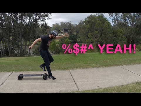 Learning to Ride an Evolve Electric Skateboard || Ep 1
