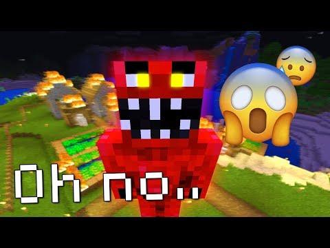Evil Elmo DESTROYED this Minecraft Village! (NOT GOOD)