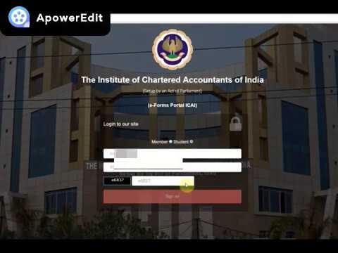 How to Fill Form 108 CA Articleship Completion Form Online ICAI