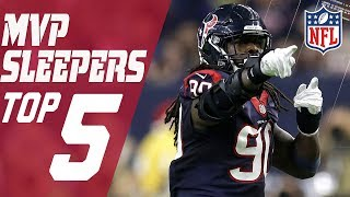 Top 5 MVP Sleepers Heading into the 2017 Season | Total Access | NFL
