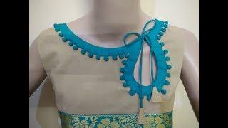 Stylish Neck Design (Boat Neck) Cutting And Stitching