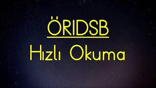 Download 1. Sınıf ÖRIDSB Harf Grubu Hızlı Okuma Video