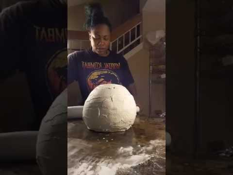 Cakeslangerz Part 2 of The Football Helmet cake