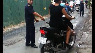 Dân phòng lạm quyền, dừng xe người vi phạm như cảnh sát