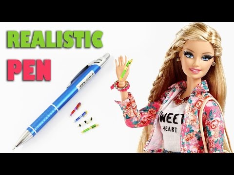 How to make a doll pen -  Doll crafts - simplekidscrafts