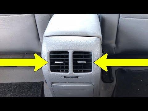 Cum schimbi / inlocuiesti grila ventilatie aer spate la VW Golf 5, 6, Jetta in doar 5 pasi