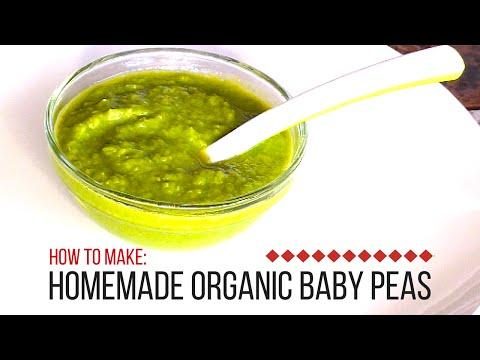 DIY- How to Make a Baby Food - Sweet Peas Baby Food Recipe
