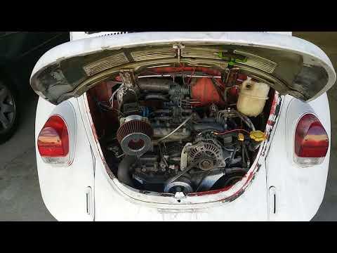 Subaru powered beetle update, blown gasket!