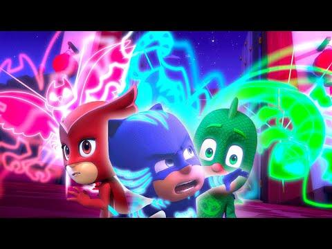 PJ Masks Full Episodes   Catboy, Owlette and Gekko in Action!   2 HOURS   Cartoons for Children #105