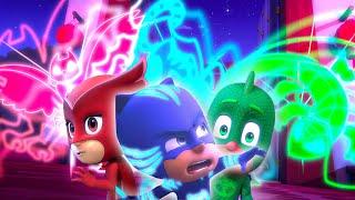 PJ Masks Full Episodes | Catboy, Owlette and Gekko in Action! | 2 HOURS | Cartoons for Children #105