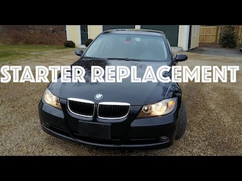 BMW 328i Starter Replacement // SHORTCUT!!