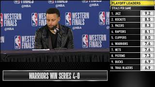 Stephen Curry Press Conference | Western Conference Finals Game 4