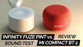 Infinity (JBL) Fuze Pint Review & vs. Mi Compact Bluetooth Speaker 2!