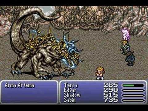 Final Fantasy VI Advance  - Boss -  Ultima Weapon -