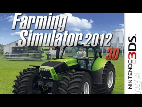 Farming Simulator 2012 3D Gameplay {Nintendo 3DS} {60 FPS} {1080p}