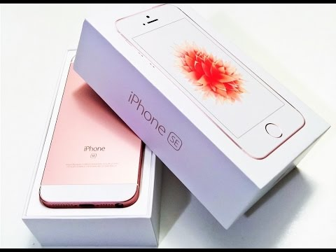 Apple iPhone SE Rose Gold 64 GB Unboxing and First Impressions