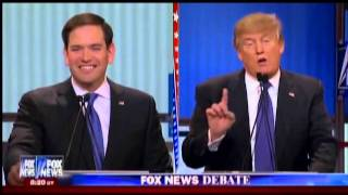 Donald Trump Mocks Little Marco Rubio At Fox News Debate