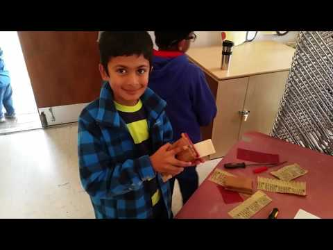 Cub Scouts pinewood derby car building clinic