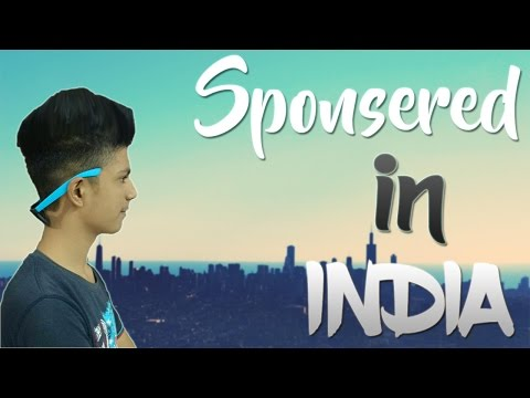 How To Get SPONSORED On Youtube In INDIA!😍