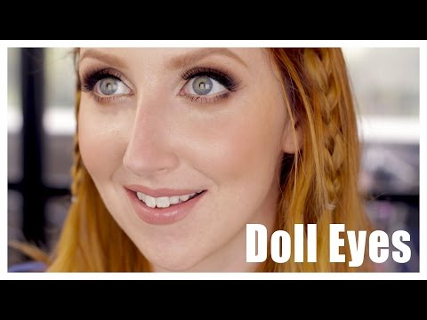 Makeup for Bigger looking Eyes