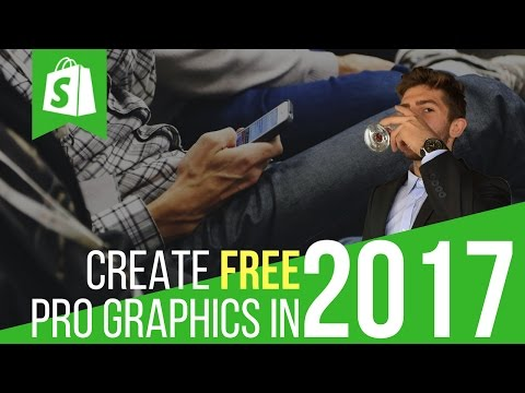 How To Create FREE Professional Graphics For Your Shopify Store and Facebook Ads!