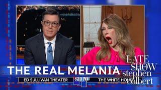 Download Melania Trump Denies Using A 'Fake Melania' Video