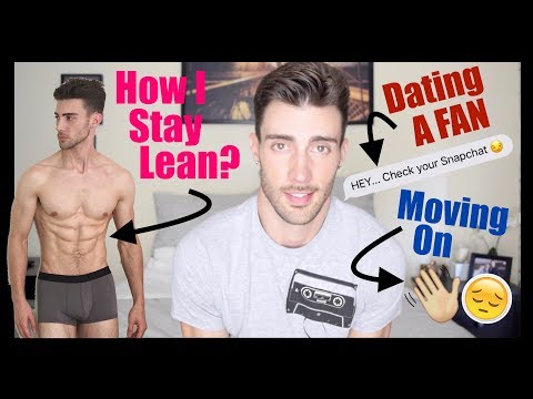 HOW I STAY LEAN, DATING A FAN, & MOVING ON...