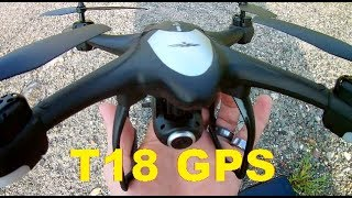 Potensic T18 GPS Follow Me RTH Drone Setup APP & Feature Testing Review