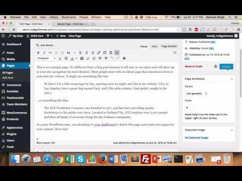 Bizzboss Pro : Page options Management to hide/show Header/Menu, Footer, Title bar etc..