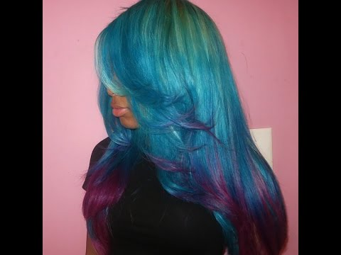 HOW TO: Coloful Ombre Hair (EASY)
