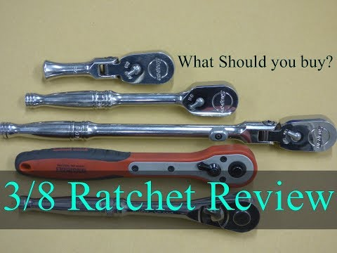 My 3/8 Ratchets - Snap On - Teng Tools - Draper Expert -  Comparison