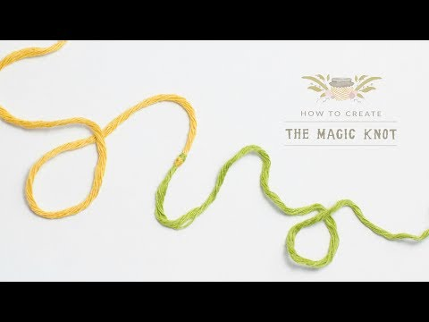 How To: The Magic Knot (Yarn Join) | Easy Tutorial by Hopeful Honey