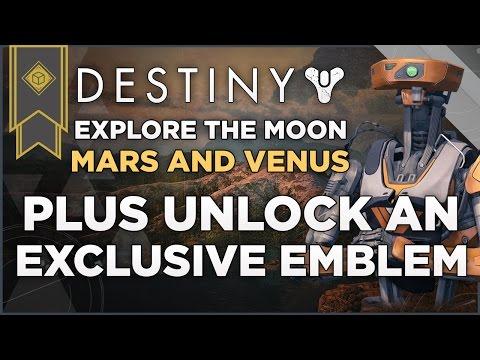 Destiny: Explore The Moon, Mars And Venus Plus Unlock An Exclusive Player Emblem