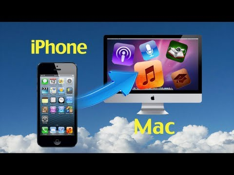 Transferring iPhone Music to Mac: How to transfer music from iPhone 5 to Mac for backup?