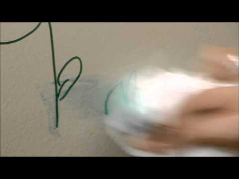 Removing Crayon and Marker From Your Walls