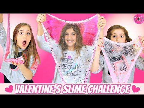 Valentine's Day Slime Challenge - Mystery Slime!
