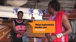 Masai ajitafutia jeneza | Kona ya Vichekesho na Masai - Minibuzz Tanzania