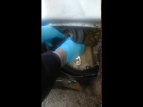 Crankshaft Pulley Removal Using Electric Impact Wrench
