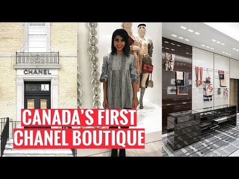 EXPLORING TORONTO | Yorkville and the Chanel store