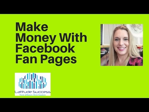 Make Money With Facebook Fan Pages