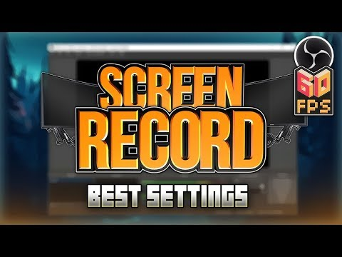 How to Record PC Screen in 1080p 60 FPS w/ OBS Studio 2018! (Best Settings) *NO LAG*