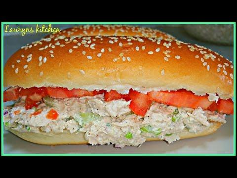 Homemade -Tuna Salad Sandwich Recipe!