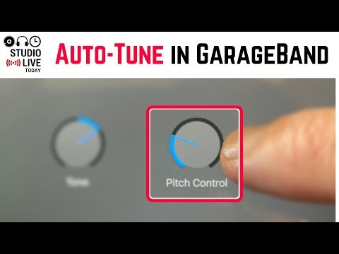 Auto-Tune in GarageBand iOS (iPhone/iPad) - Using Pitch Control/Enhance Tuning