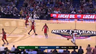 4th Quarter, One Box Video: New Orleans Pelicans vs. Milwaukee Bucks