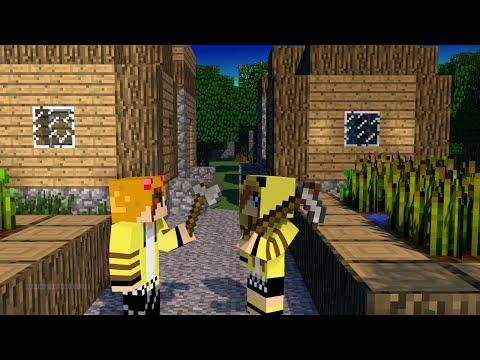 Minecraft PE 0.9.5-Multiplayer-Episode 3-DONATION FACTORY CHALLENGE!!