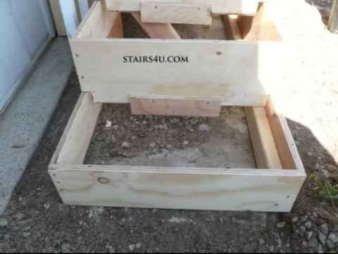 Benefits Of Extending Plywood Risers Lower - Mobile Home and Trailer Stairs